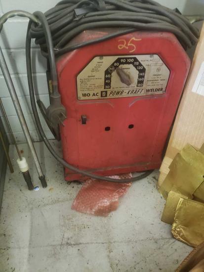 180 Ax Powr-Kraft welder