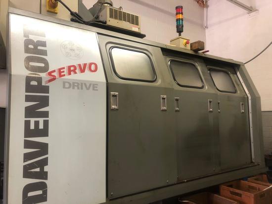 2001 Davenport Model B Servo Drive 5 Spindle Automatic Screw Machine