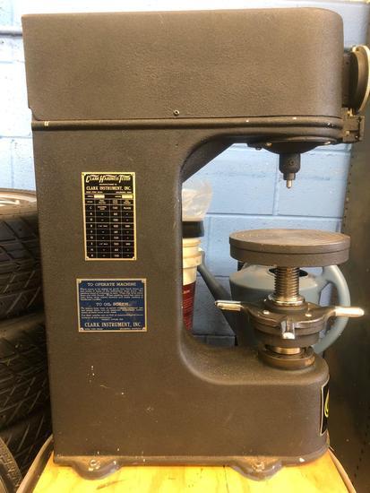 Clark Instrument Inc Hardness Tester #C8A