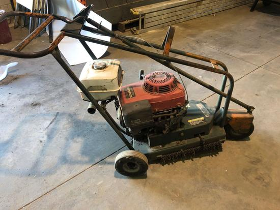 Shingle Tearing Machine w/Honda 11hp has motor