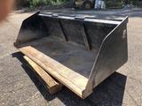 Tomahawk 84in Oversized Skidloader Material Bucket