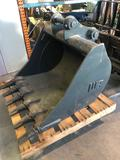Like New WB Co. 36 in Excavating Bucket #78MR-6 , Cat 426