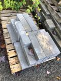 Assorted rectangular bricks