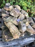 Assorted pallet of Rock