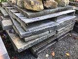 Assorted pallet of sand stone