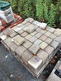 Assorted pallet of deco landscape brick