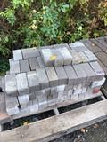 Assorted pallet of rectangular brick