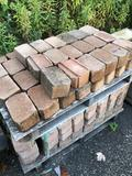 Assorted pallet deco retaining wall block