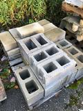 Assorted pallet of blocks and sandstone