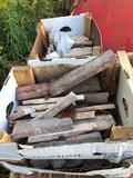 Assorted pallet of sand stone deco blocks