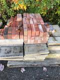 Pallet of assorted brick and stone