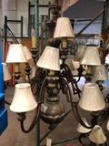 New Carriage House Lighting 43wx49h Chandelier