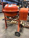 New Central Machinery 110v 3.5 CF Cement/Mortar Mixer