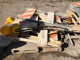 Pallet load of Road Signs