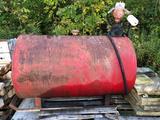 Fuel tank w/ hand crank
