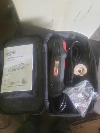 Craftsman nexrec 2.5 amp multi tool kit