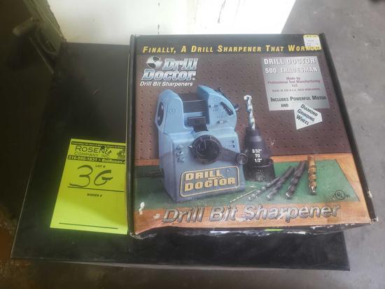 Drill doctor 500 trades man drill bit sharpener
