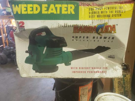 New in box Barracuda weed eater super blower