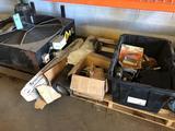 Shelf load Large Fan, auto parts, gutter guards