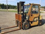Yale LP no.A876937 large forklift. 7000 pound capacity, see video