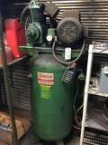 Kargard Industries air compressor with single phase motor, 115/208/230 volt