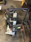 Echo 2 cycle lawn mower with bagger