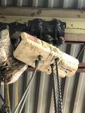 Coffing 1/2 Ton 110v Hoist