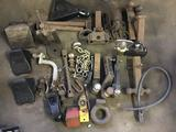 Large lot of misc hitches and hitch components, receivers and more