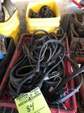 2 crates of assorted bungee cords