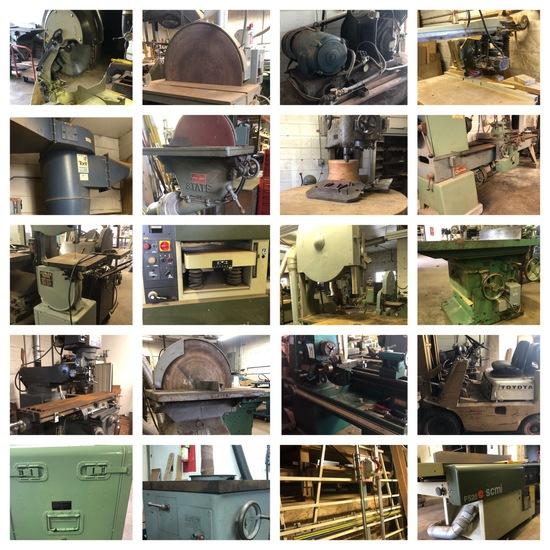 Woodworking Machinery Dispersal