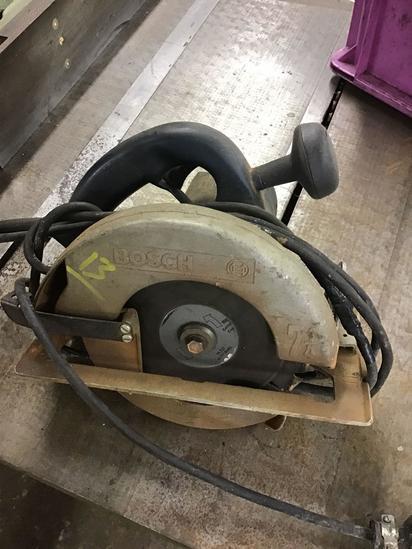 Bosch 7 1/4 inch circular saw