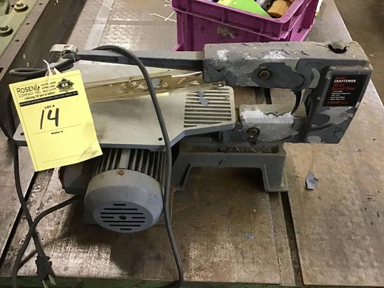 Craftsman 16 inch scroll saw. 1/6 HP motor