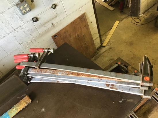 5-24 inch bar clamps, sells times the money
