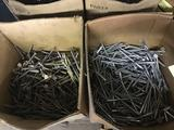 Approx 10 partial boxes of new screws, see pics for quantity of each and sizes included