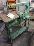 Vintage Delta Scroll saw, with cool industrial base