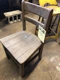 Vintage Wooden Children?s Chair