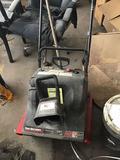 Yard Machines 21 inch snow blower, has compression