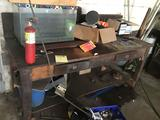 Wooden Workbench, 72 inches long