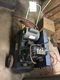 Brown heavy duty air compressor, 1 hp