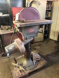 State Manufacturing Co 16 in Disc Sander #D46