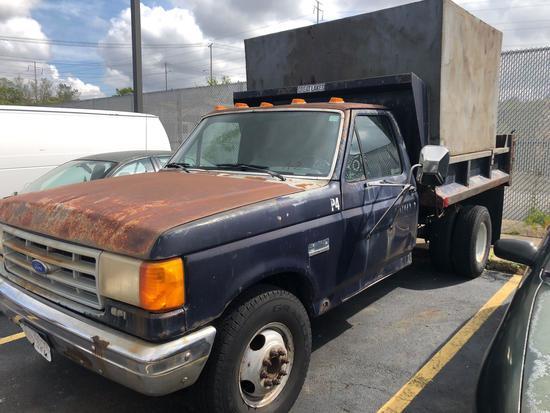 1990 Ford F-350 1 Ton Dump Truck (A2)