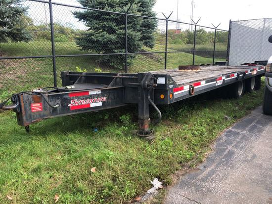 Interstate 20DT Dual Tandem Equipment Trailer