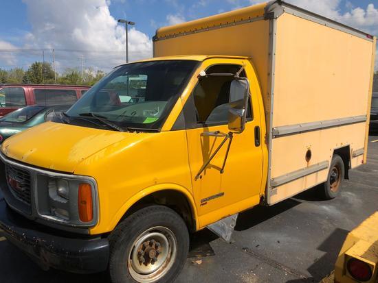 1997 GMC 3500 10ft Box Truck (A9)