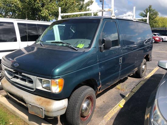 1999 Ford E-250 Econoline Contractors Van (A12)