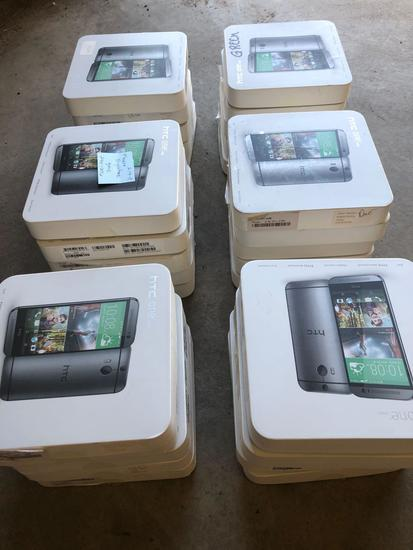 Lot of (30) HTC one (M8) Smart Phones