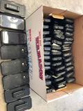 Lot of (48) HTC Smart Phones in Otter Boxes & Box of Chargers.