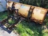 Meyer 8 ft Steel Plow Blade/Hookups