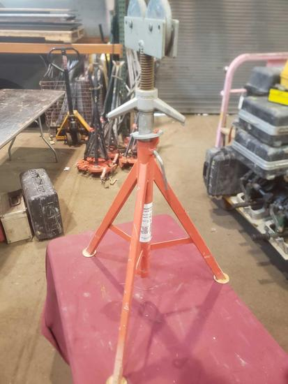 Ridgid Roller Head Pipe Stand Model#RJ99