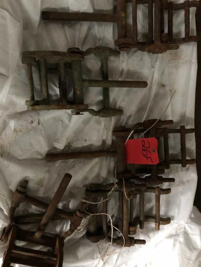 5 Manual Cage Pipe Alignment Clamps