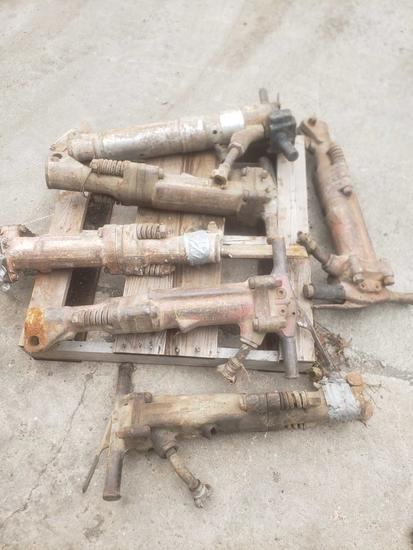 6 Air Powered Jack hammers